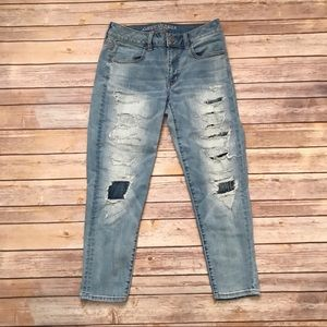 American Eagle Cropped Jeans | Size 6